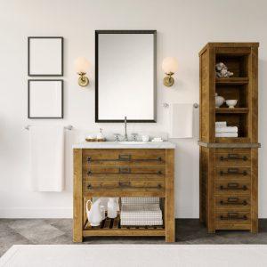 przykładowe meble łazienkowe